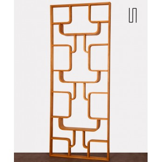 Room divider by Ludvik Volak for the producer Drevopodnik Holesov, 1960s