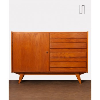Vintage wooden chest of drawers by Jiri Jiroutek, 1960s