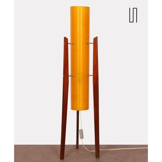 Vintage floor lamp published by Novoplast, 1970s