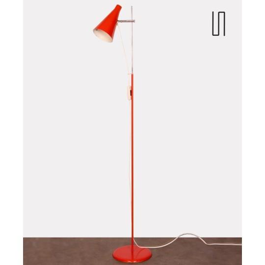 Metal floor lamp by Josef Hurka for Lidokov, 1960s