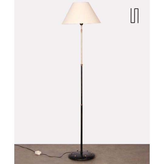 Lampadaire en métal, design brésilien, 1960