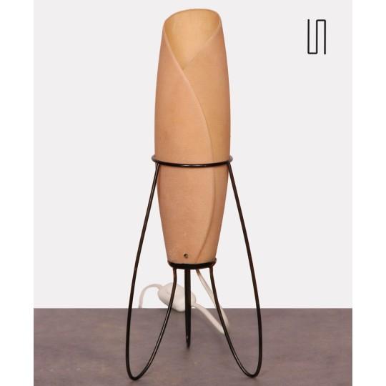 Lampe vintage éditée par Pokrok Zilina, 1960