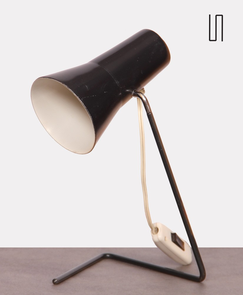 Table lamp by Josef Hurka for Drupol, 1963