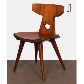 Pine chair by Jacob Kielland-Brandt for I. Christiansen, 1960s