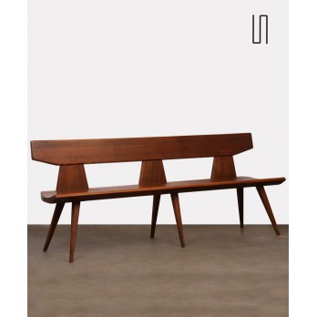 Pine bench by Jacob Kielland-Brandt for I. Christiansen, 1960s