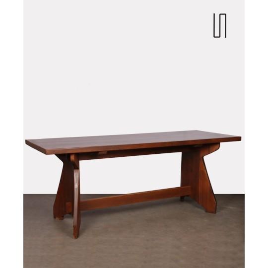 Table de repas par Jacob Kielland-Brandt pour I. Christiansen, 1960