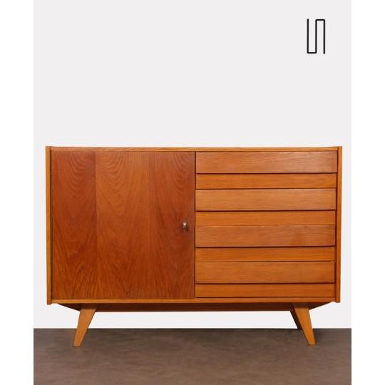 Vintage 4-drawer chest , model U458 by Jiri Jiroutek, 1960s