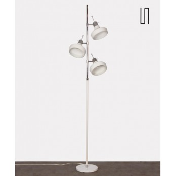 White floor lamp by Etienne Fermigier for Monix, 1970s