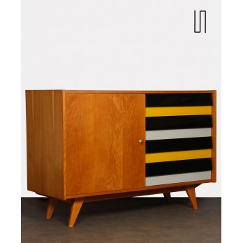 Chest with yellow drawers, model U458 by Jiri Jiroutek, 1960s