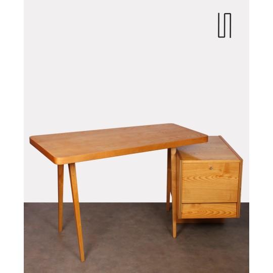 Ash desk edited by Drevotex OPMP, 1970s