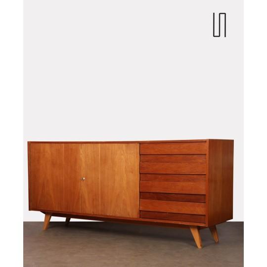 Oak sideboard by Jiri Jiroutek, model U-460, 1960s