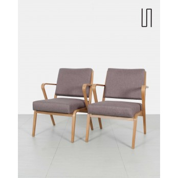 Pair of armchairs by Selman Selmanagić