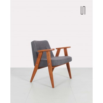 Grey Chierowski armchair 366, Soviet design