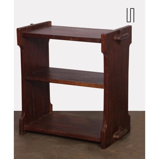 Petit meuble de rangement vintage en bois, 1950