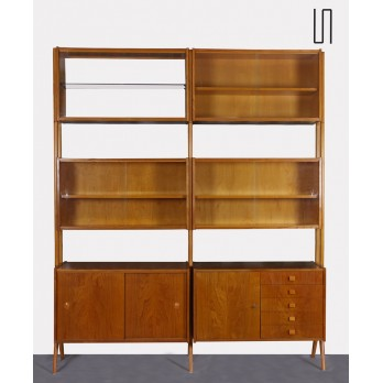Vintage wall unit by Frantisek Jirak for Tatra Nabytok, 1960s
