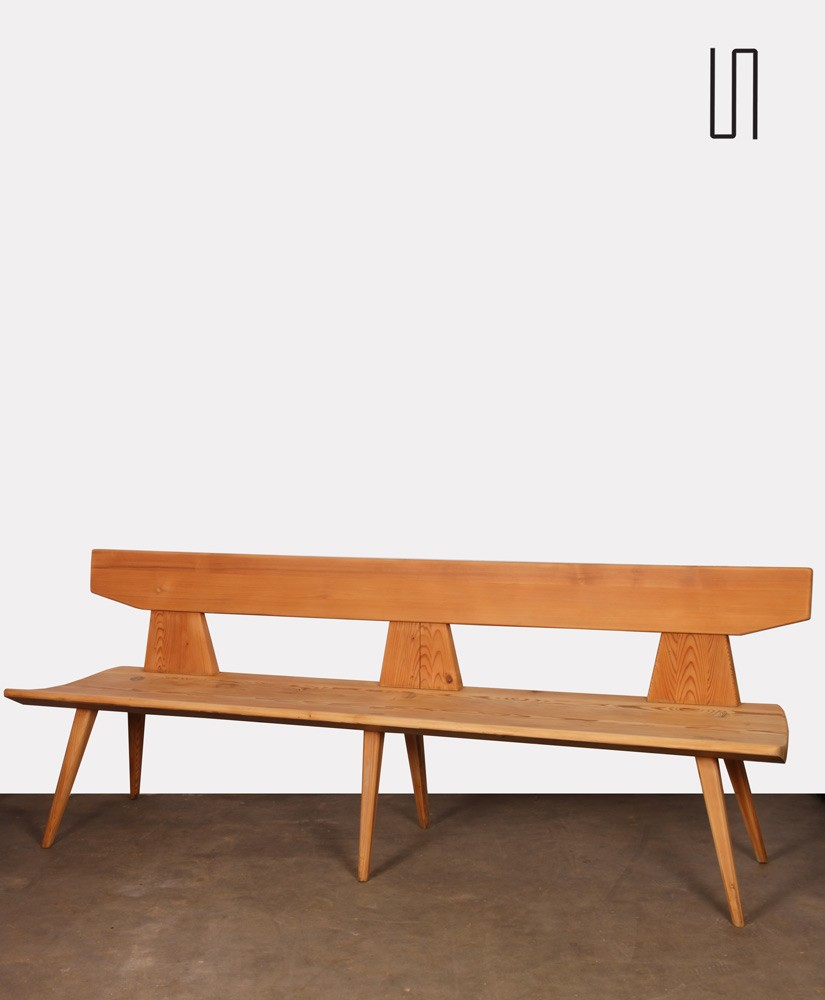 Vintage bench by Jacob Kielland-Brandt for I. Christiansen, 1960s
