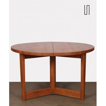 Round table by Jacob Kielland-Brandt for I. Christiansen, 1960s