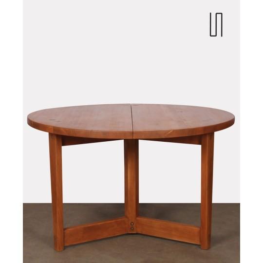 Table ronde par Jacob Kielland-Brandt pour I. Christiansen, 1960