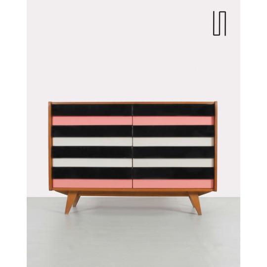 U-450 chest of drawers from 1960s by Jiri Jiroutek, Eastern European design