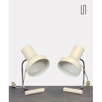 Pair of table lamps by Josef Hurka for Napako around 1970