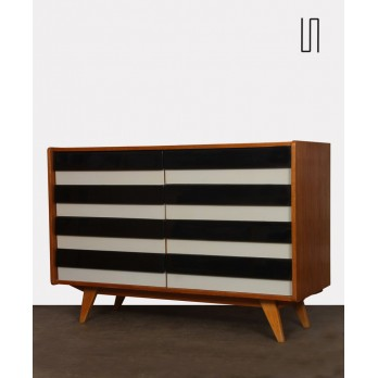 Vintage chest of drawers by Jiri Jiroutek, model U-453 from the 1960s
