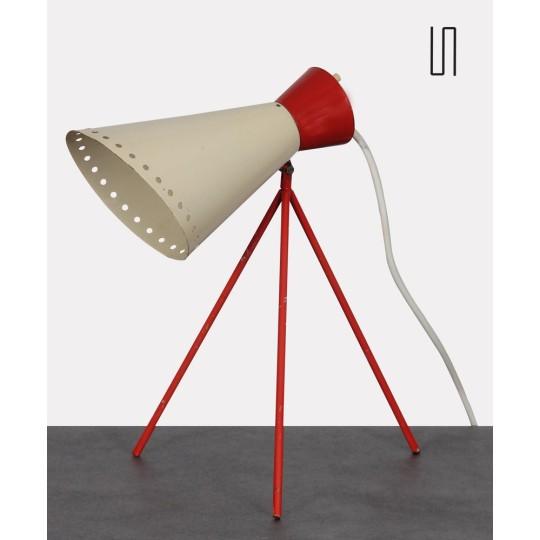 Lampe vintage, modèle 1618, par Josef Hurka pour Napako, 1954