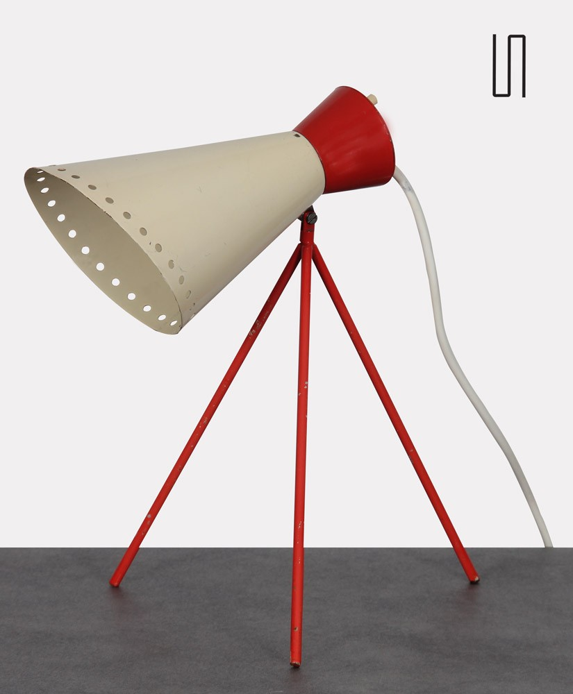 Vintage lamp, model 1618, by Josef Hurka for Napako, 1954