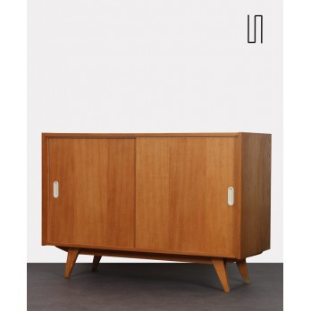 Sliding door chest, model U-452 by Jiri Jiroutek, 1960s