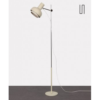 Vintage white floor lamp edited by Napako circa 1970