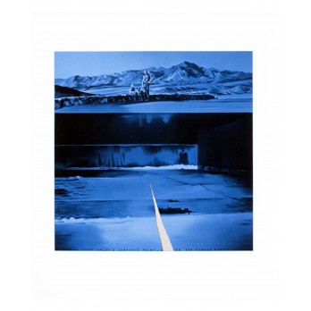 Screenprint - Jacques Monory - Death valley