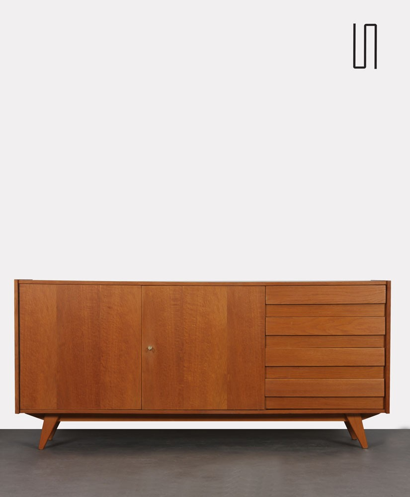 Large chest of drawers by Jiroutek for Interier Praha, model U-460, 1960