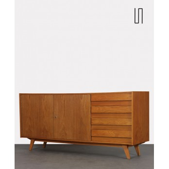 Large storage unit by Jiroutek for Interier Praha, model U-460, 1960s