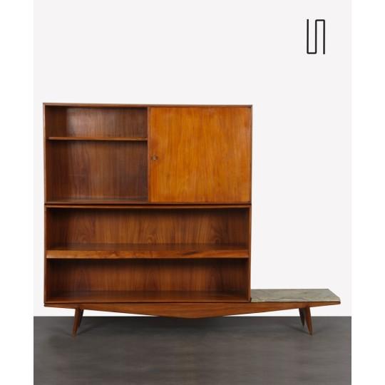 Bibliothèque par Hauner et Martin pour Moveis Artesanal, 1950