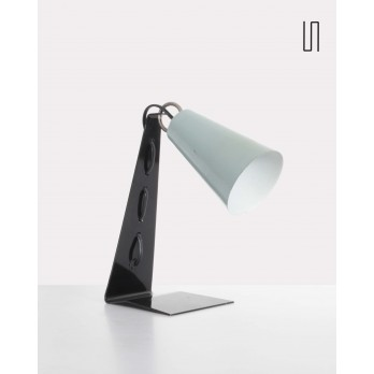 Lampe soviétique, Apolinar Galecki, 1960, design polonais