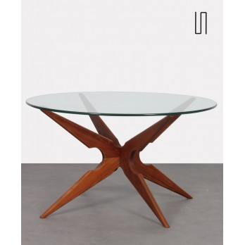 Scandinavian teak coffee table produced by Sika Mobler, 1960s
