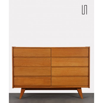Eastern European chest of drawers by Jiri Jiroutek, model U-453, 1960