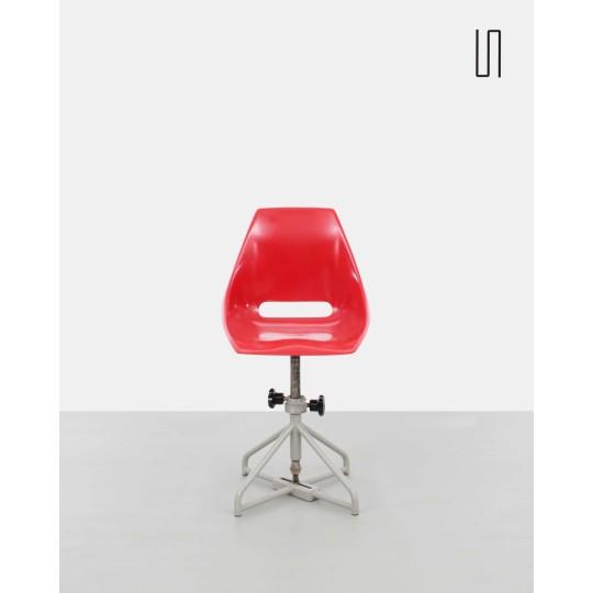 Czech chair by Miroslav Navratil for Vertex, 1960s, Eastern Europe design