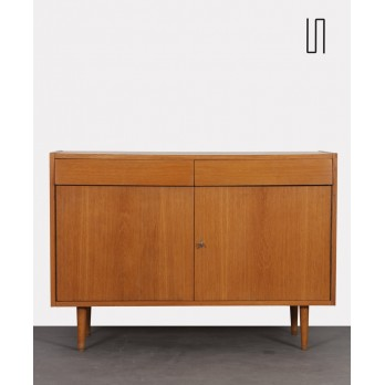 Vintage oak sideboard produced by UP Zavody circa 1960