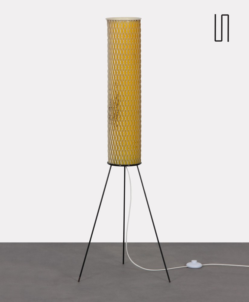Vintage floor lamp by Josef Hurka for Napako, model 1706, 1960s
