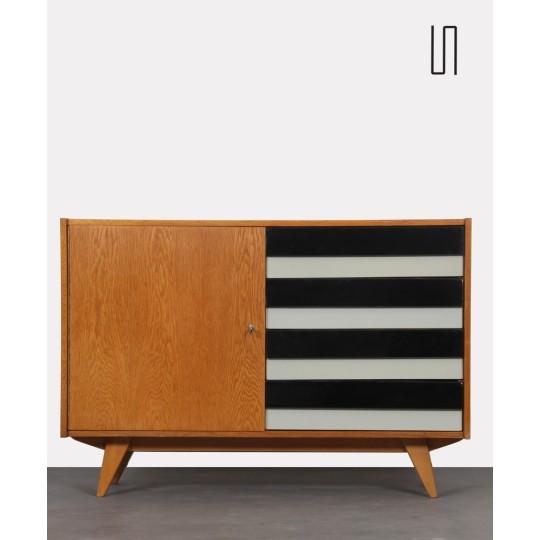 Vintage chest of drawers, model U458 by Jiri Jiroutek, 1960