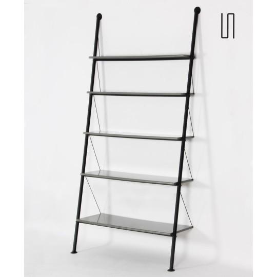 John Ild grey shelf by Philippe Starck for Disform, 1977
