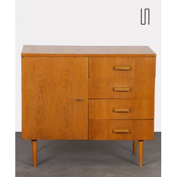 Vintage wooden chest of drawers edited by UP Zavody, 1963