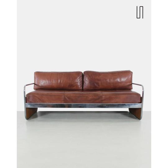 Czech functionalist sofa, 1930, Eastern European Design