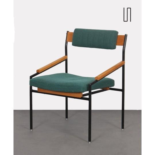 Vintage metal chair, Czech production, 1970s