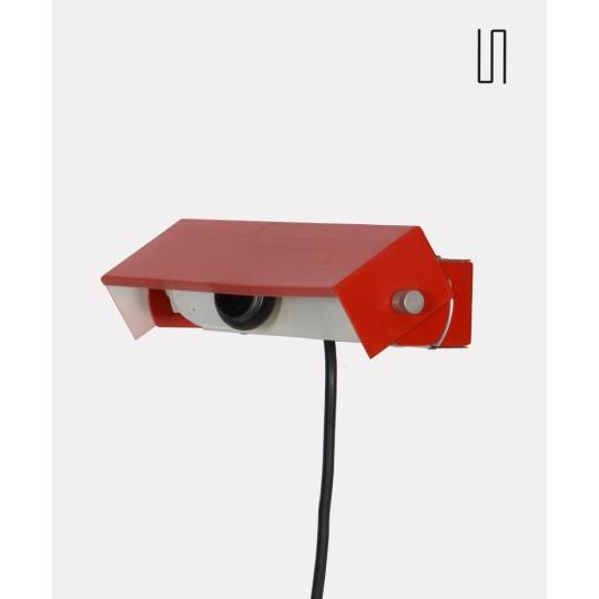 Applique en métal, design tchèque des années 1970