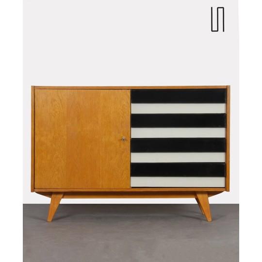 Commode vintage à tiroirs, modèle U458 par Jiri Jiroutek, 1960