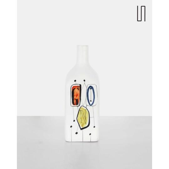 "Ceramic ""Gin"" bottle by Roger Capron"