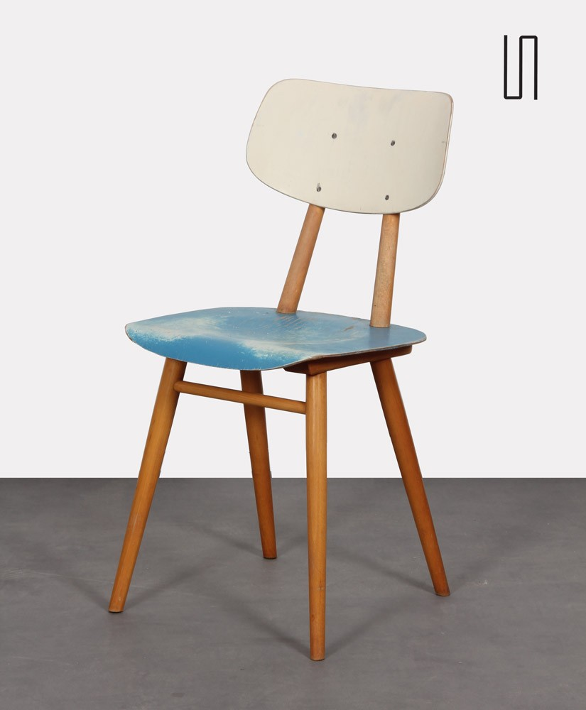 Vintage chair for the manufacturer Ton, 1960