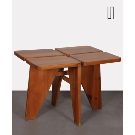 Table de repas en par Lisa Johansson Pape des années 1960