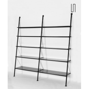 John Ild two-panel bookcase by Starck for Disform, 1977